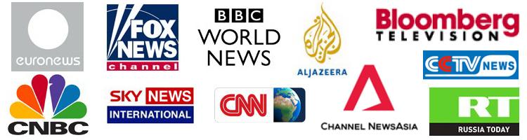 Daftar lengkap saluran khusus berita di Indovision.