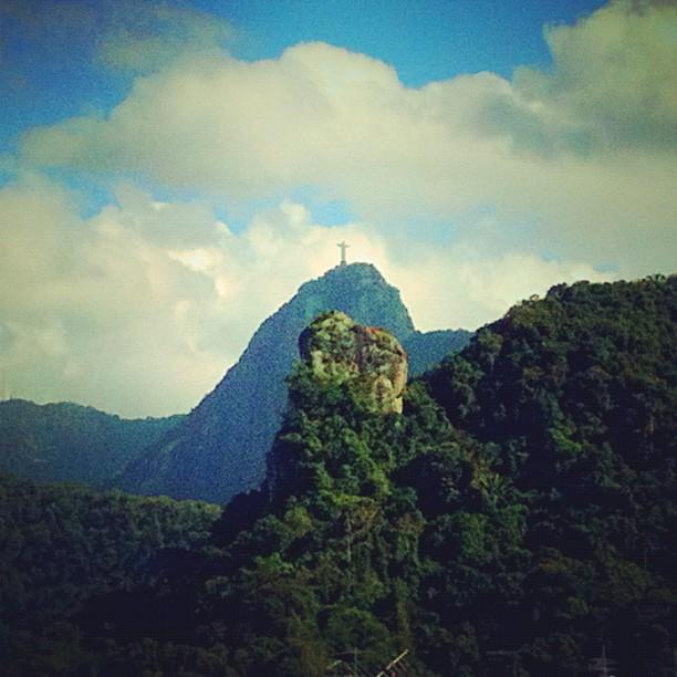 Cristo Redentor,clouds,Rio de Janeiro,Pablo Lara H