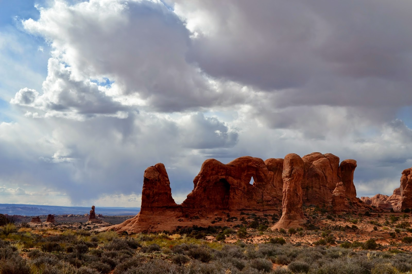 Rock formation Arches National Park
