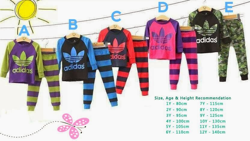 ADIDAS PYJAMAS 5 COLOUR !!! HOT MARKET !!!