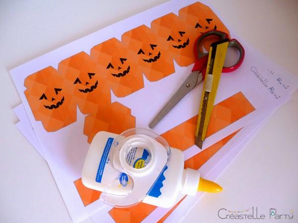 matériel DIY lanterne halloween