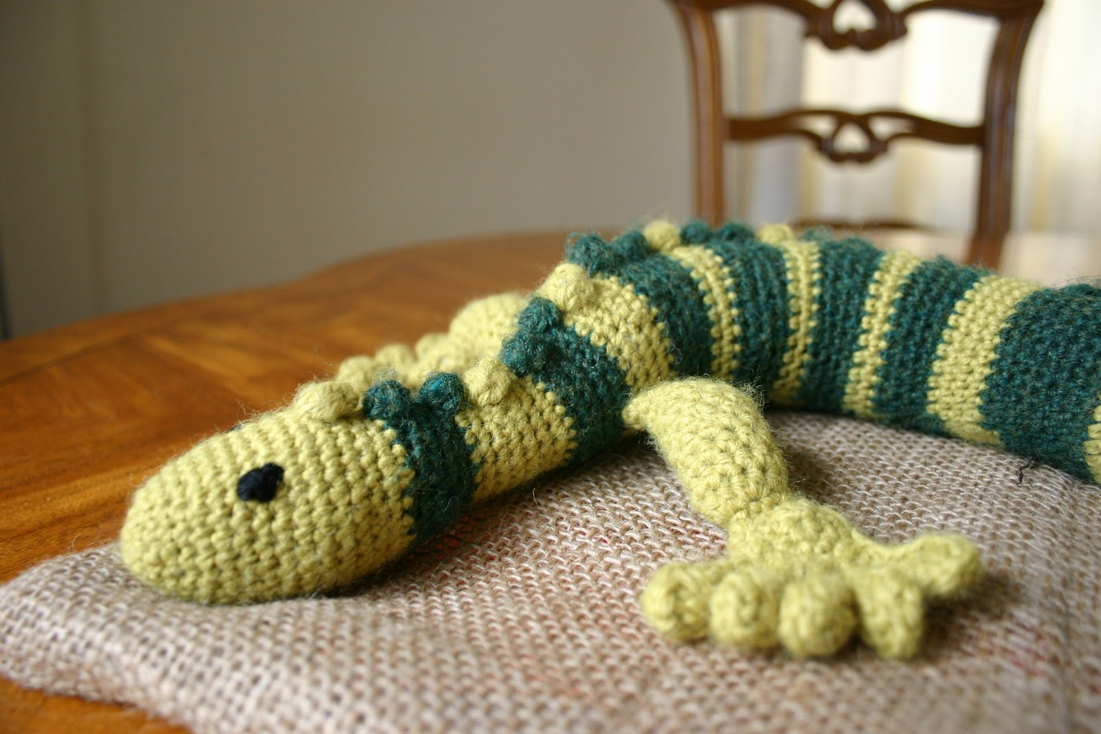 Tasty crochet gecko frecko while i was making gecko frecko benjamin literally sat by my side for hours watching my hands and watching his new friend grow when i had everything done bankloansurffo Images
