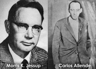 Morris Jessup y Carlos Allende