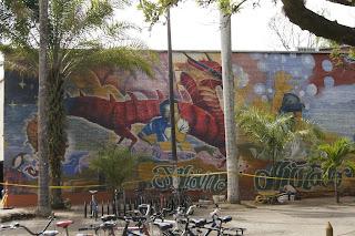 Imagen del lugar en donde se realizaría el mural