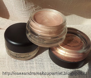 Paint Pot - MAC - Paiterly - Bare Study - Rubenesque - Prezzo - Price - INCI - Ingredienti - Review - Recensione - Rosa Carne - Pesca - Beige - Oro Swatch
