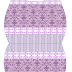 Lilac Damasks: Free Printable Pillow Box.
