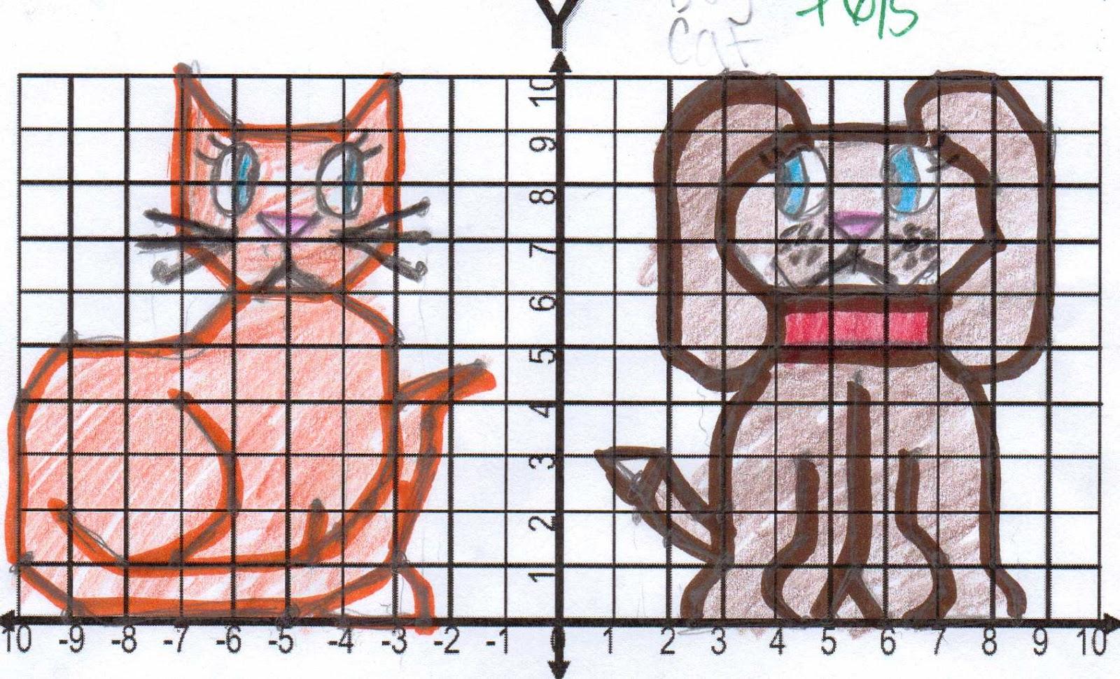 zombie math teacher coordinate graph art for grades 6 8 student work