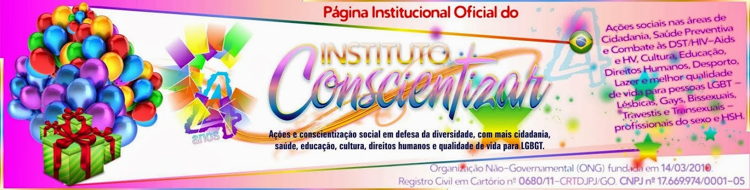 Página Institucional Oficial do INSTITUTO CONSCIENTIZAR