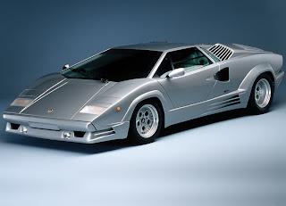 Antiguo Lamborghini Countach 25th Anniversary Del Ano 1989 Fondos