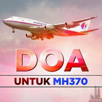 Gambar Pesawat MH370 terapung di lautan Vietnam