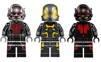 "Marvel's Ant-Man Movie ""Final Battle"" LEGO Set - Ant-Man, Yellowjacket & Black Out Ant-Man Hank Pym"