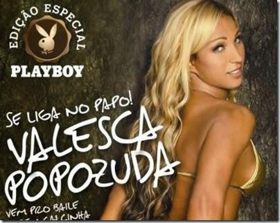 Confira As Fotos De Valesca Popozuda Nua Na Revista Playboy Especial