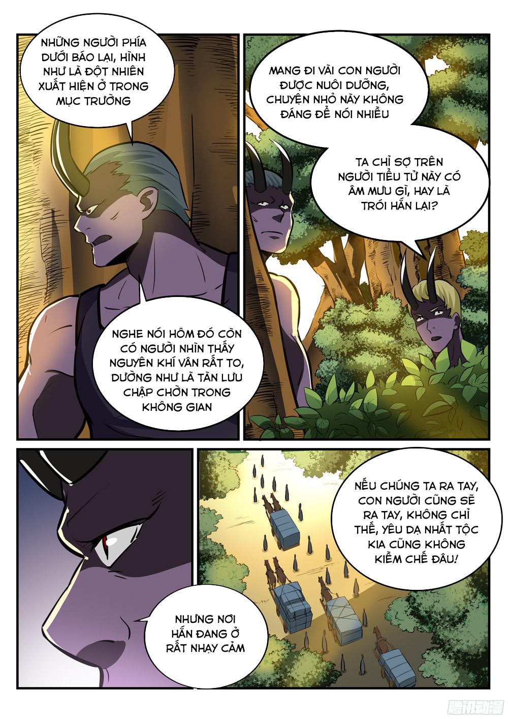 BÁCH LUYỆN THÀNH THẦN Chap 225 - Trang 9