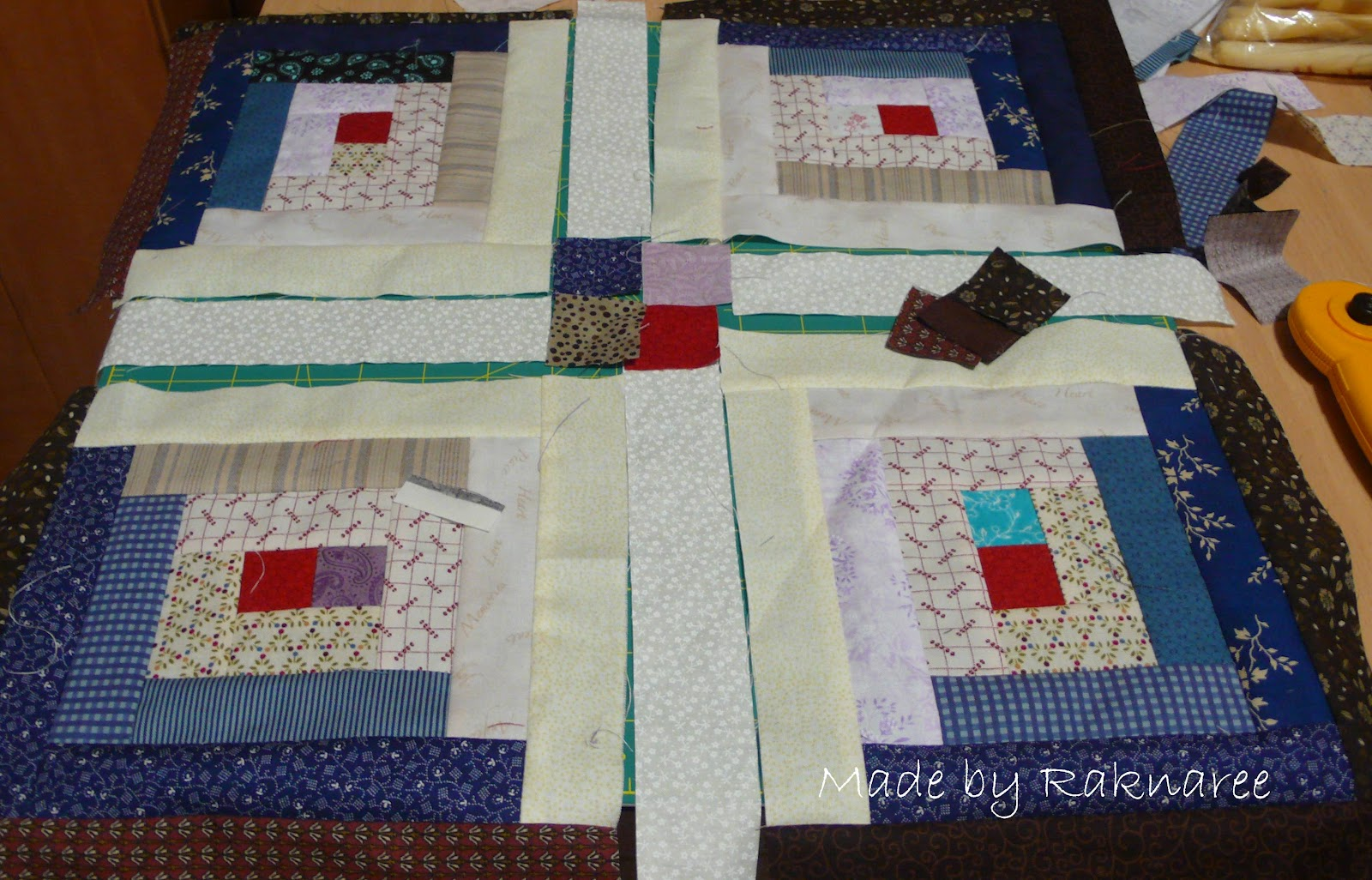 Very Impressive portraiture of Log Cabin Come2Quilt with #712618 color and 1600x1026 pixels
