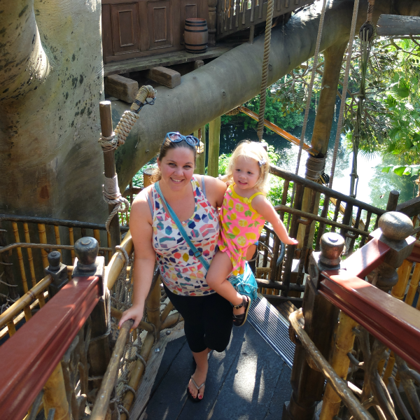 Swiss Family Treehouse, Adventureland, Magic Kingdom, Walt Disney World