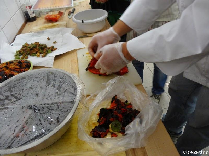 Le blog de clementine cours de cuisine italienne contorni - Cours de cuisine italienne ...