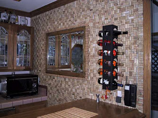 wine cork project wall