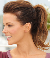 Style Athletics Cute Functional Hair Styles For the Gym Pony Tail