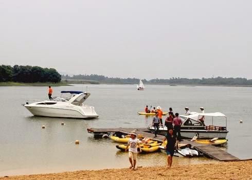 Du lịch cuối tuần - Hồ Đại Lải 1 ngày.