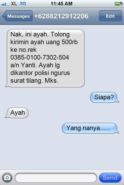 sms penipuan dengan respon yang lucu dan kocak-9