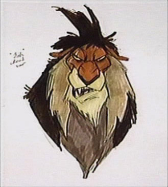 Lion king characters scar - photo#28