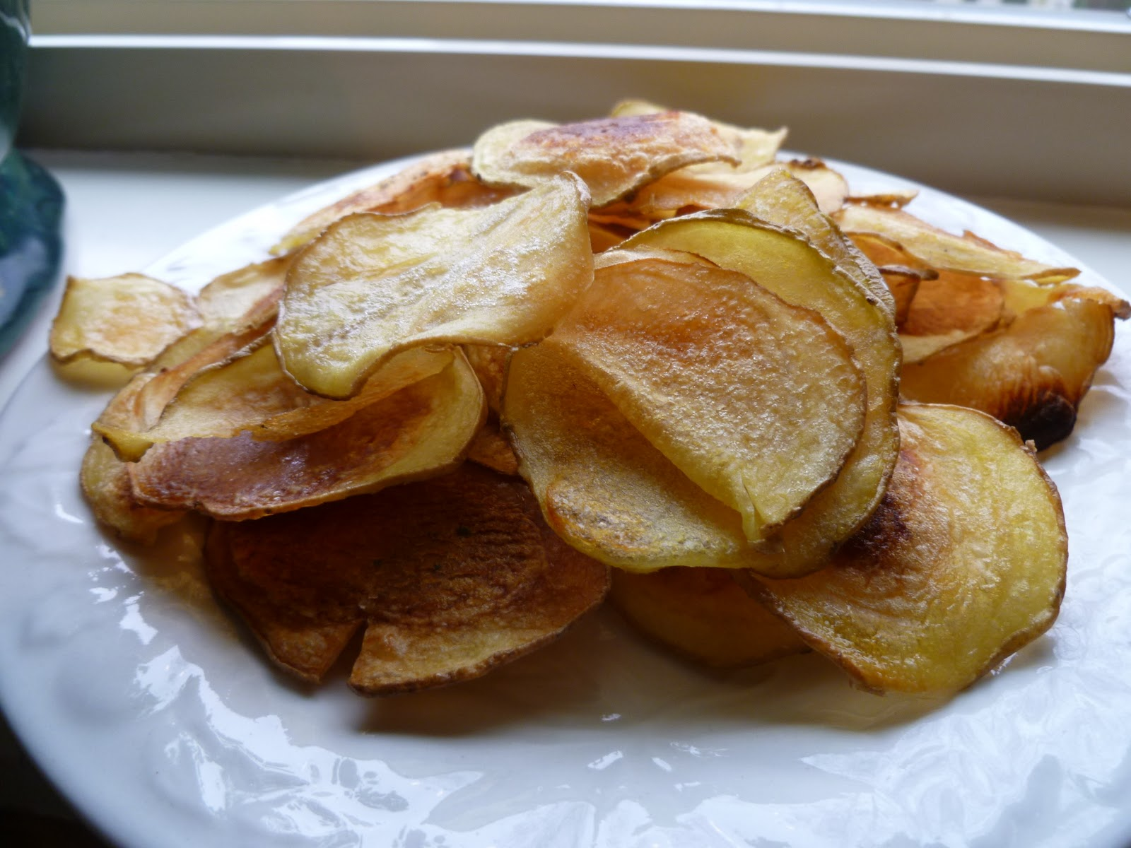 Cooking-range: Oven Fried Potato Chips