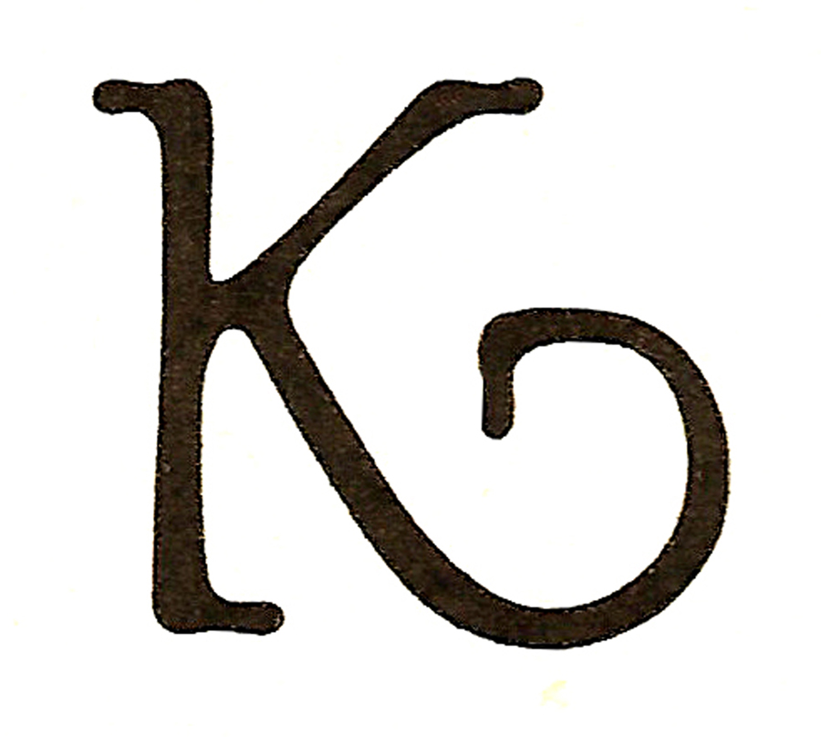 -CatnipStudioCollage-: Monogram Monday- The Letter K