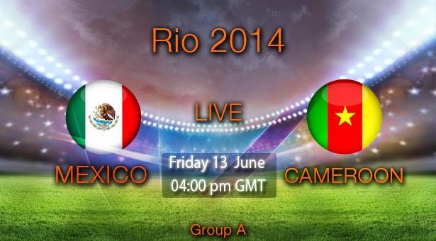 مباريات يوم الجمعة الموافق 13 / 6 / 2014  Mexico-cameroon-EN
