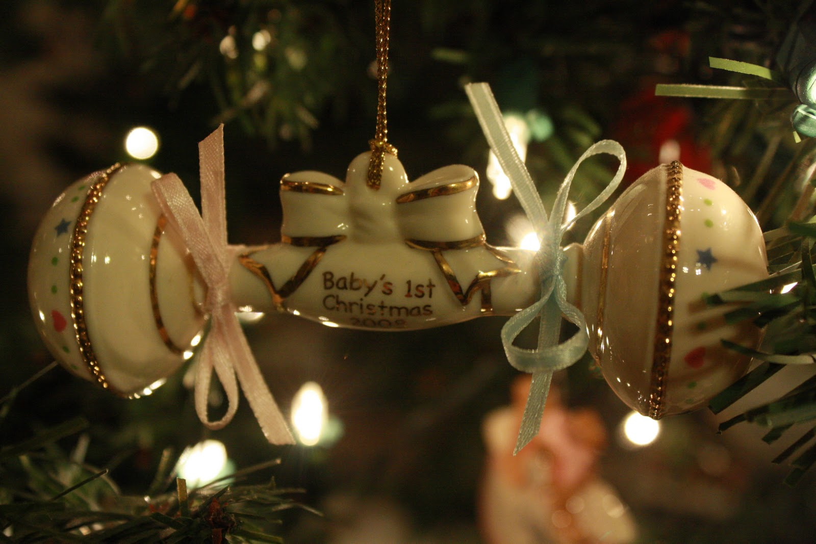 First married christmas ornament - Sophie S First Christmas Ornament She Loves Looking At It And Hearing The Story Of Her Birth It S Adorable To Watch Her Try To Remember When She Was A