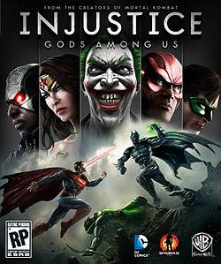 Injustice Box Cover art