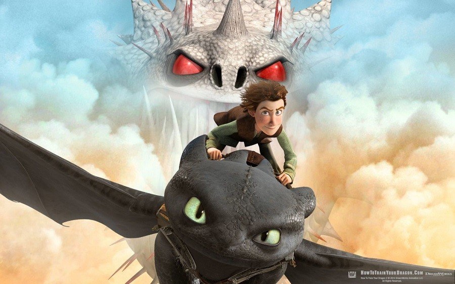 How to Train Your Dragon BluRay Baixar Imagem
