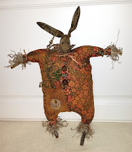 PRIMITIVE RABBIT WITH STICK ARMS/LEGS