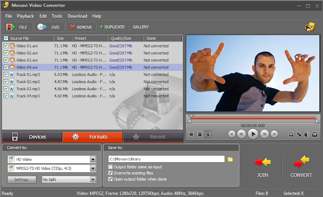 Movavi Video Converter for Windows
