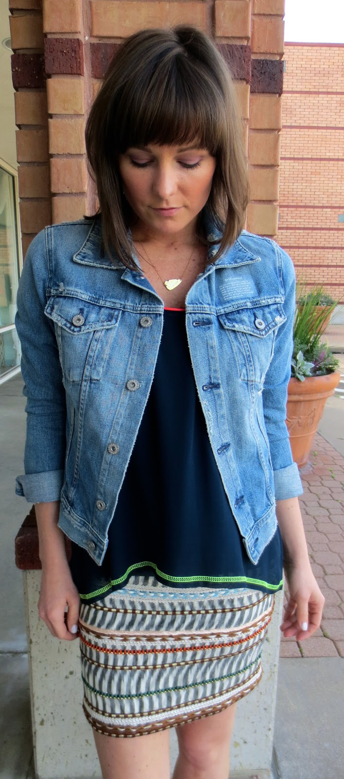 how to fix the cuff on a jean jacket