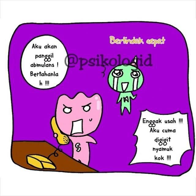 Komik Kepribadian Sanguinis Psikologid Blog Sederhana