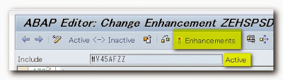 Implicit Enhancement Tutorial by ABAP Thinkers