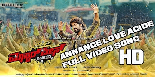 Masterpiece Annange Love Aagidhe Full Hd Video Song