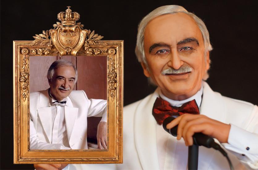 Полад Бюльбюль оглы Портретная кукла по фото  подарок на юбилей