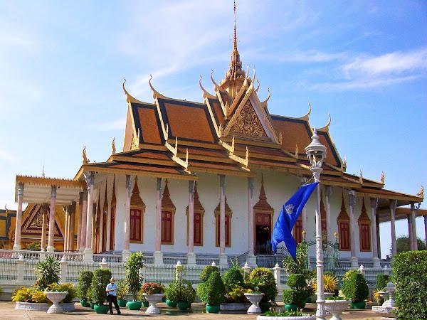 Pagoda de Plata y Palacio Real de Phnom Penh - Camboya