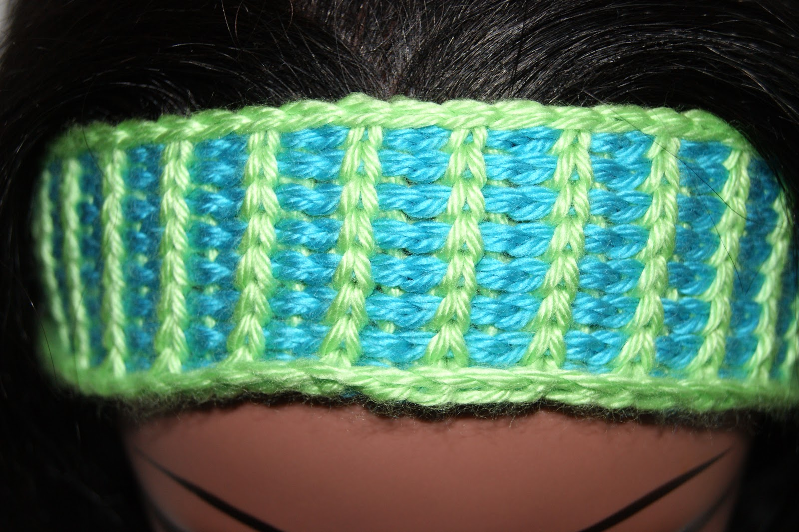 Tunisian Knit Stitch Headband Pattern : Mixin it up with DaPerfectMix: Tunisian Headbands