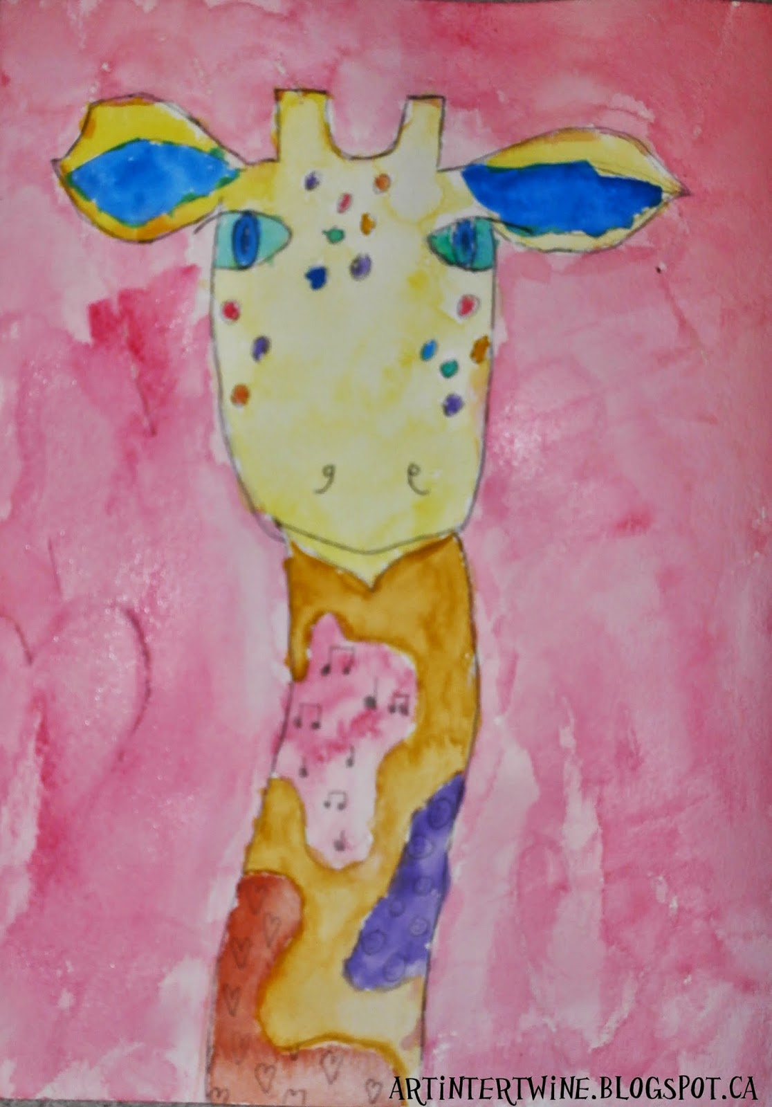 Watercolor Art Lesson or Project For Kids