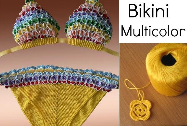 Patrones Para Hacer Bikinis De Crochet: Bikinis de ganchillo ...