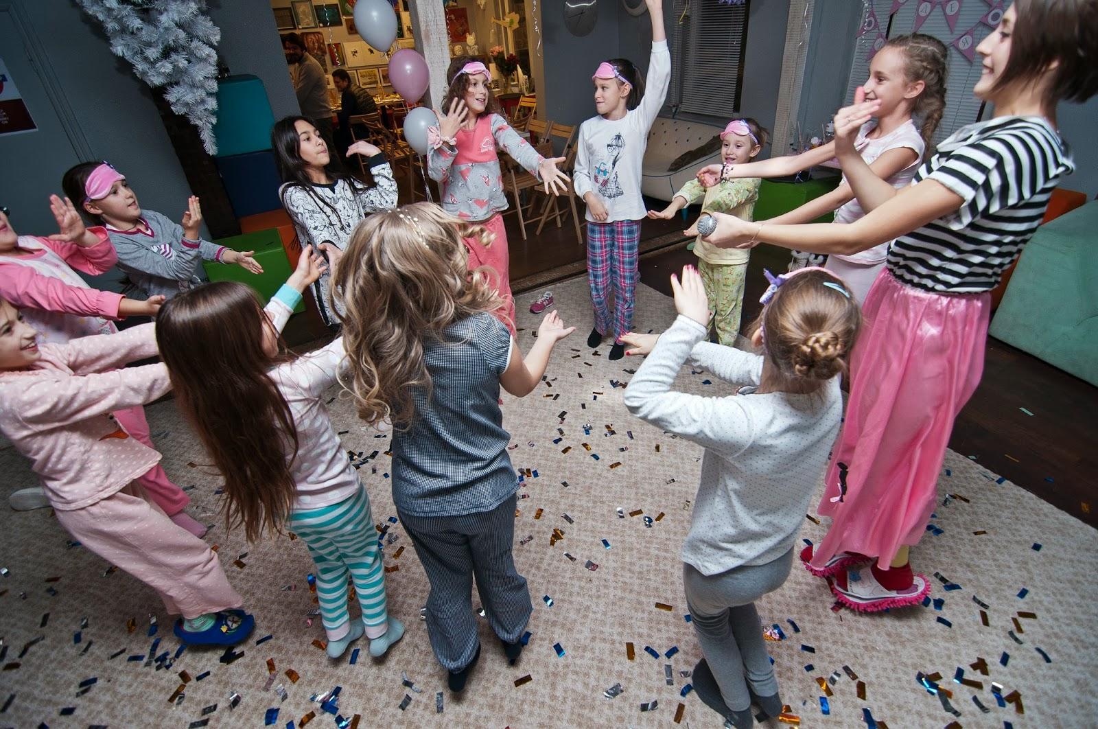 Прическа на пижамную вечеринку фото