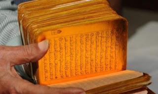 Alquran Tertua Berlapis Emas Ditemukan di India