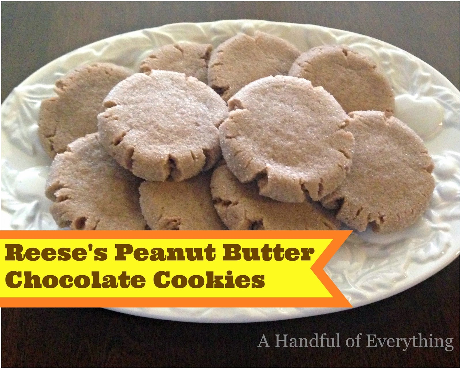 Reese's Peanut Butter Chocolate Cookies