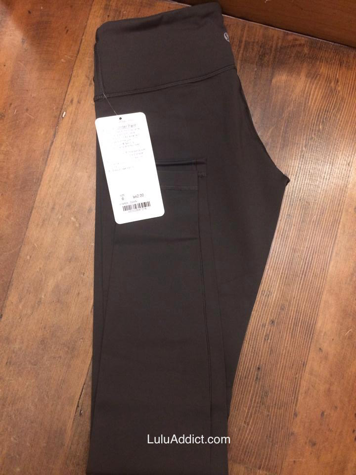 lululemon dark wren wunder under pant