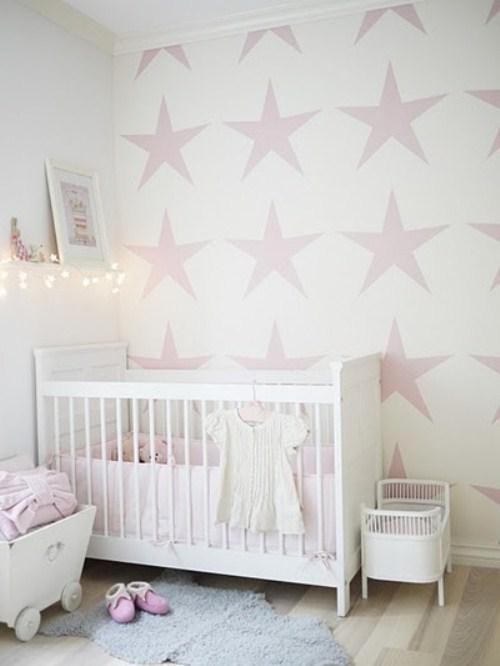 Lalole blog habitaciones para bebes for Girls bedroom wallpaper ideas