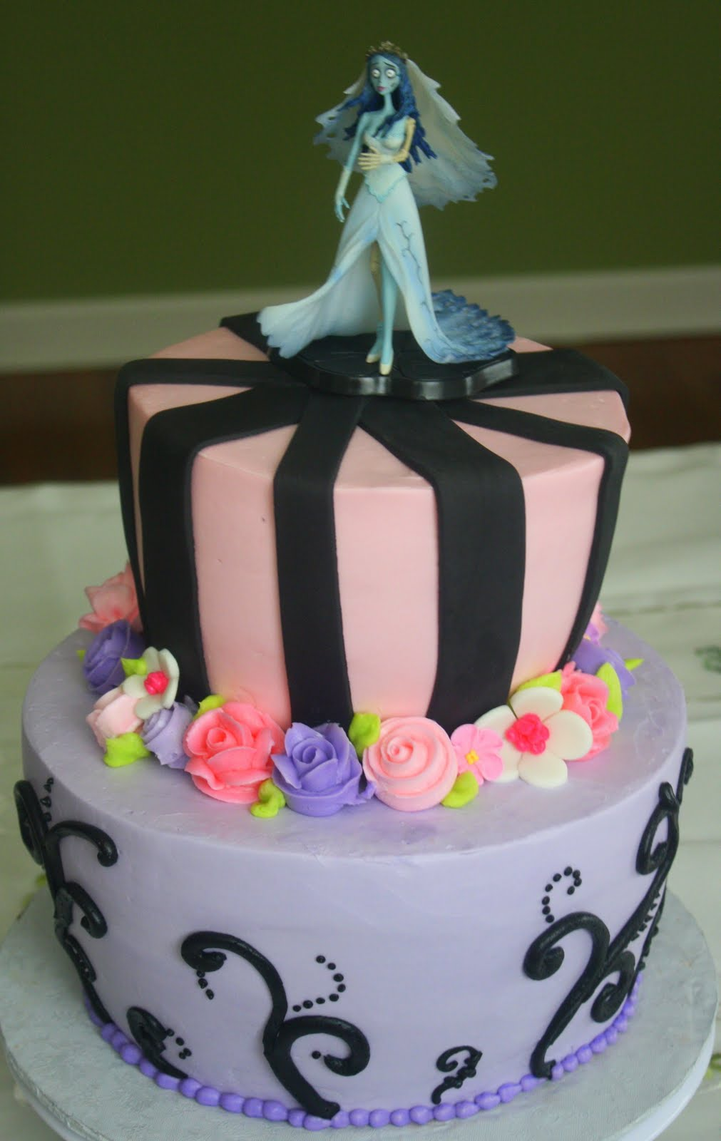 Claudine Corpse Bride Cake