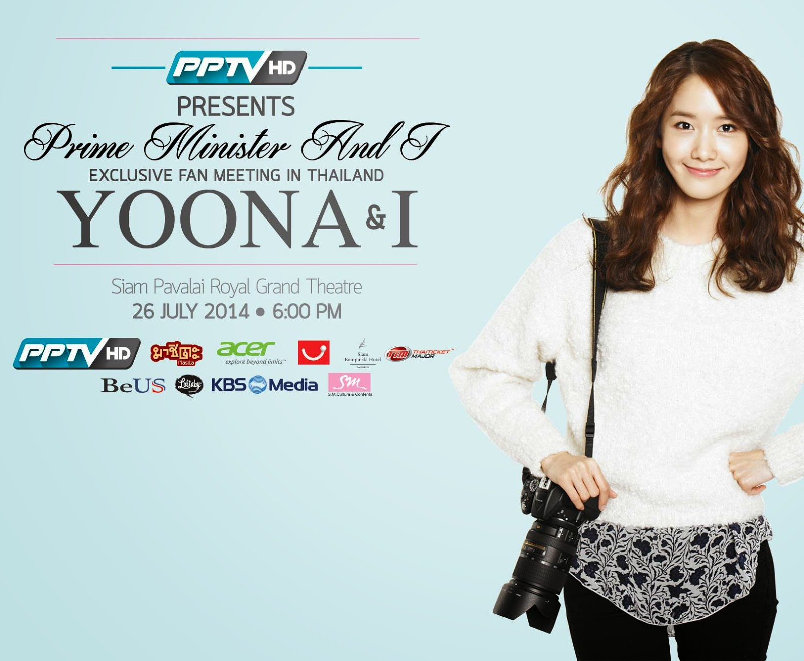 snsd yoona thailand fan meeting