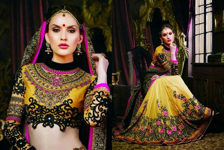 Saheli Couture Lehenga 2015 Collection